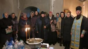 06 ноября 2016 г. ТОРЖЕСТВЕННЫЙ МОЛЕБЕН В ХРАМЕ-ЧАСОВНЕ г. СТАХАНОВА