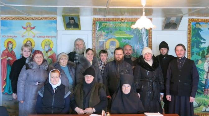 Заседание Приходского совета